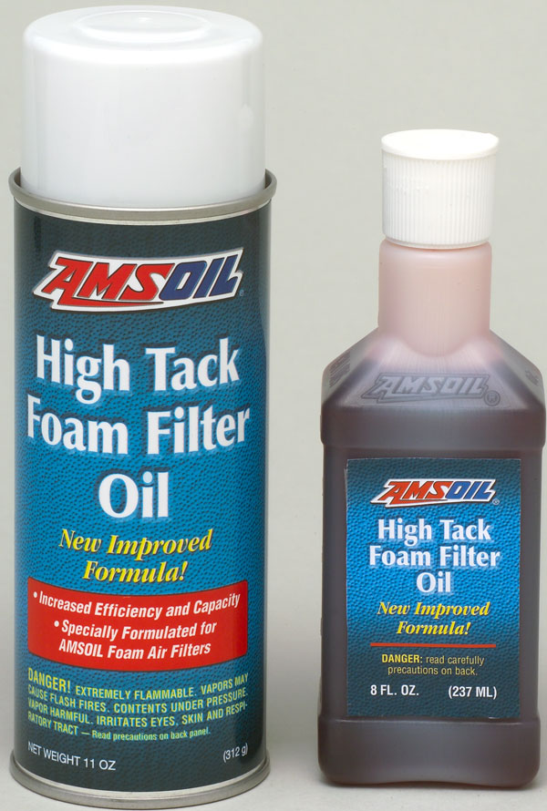 Amsoil High Tack Foam Filter Oil