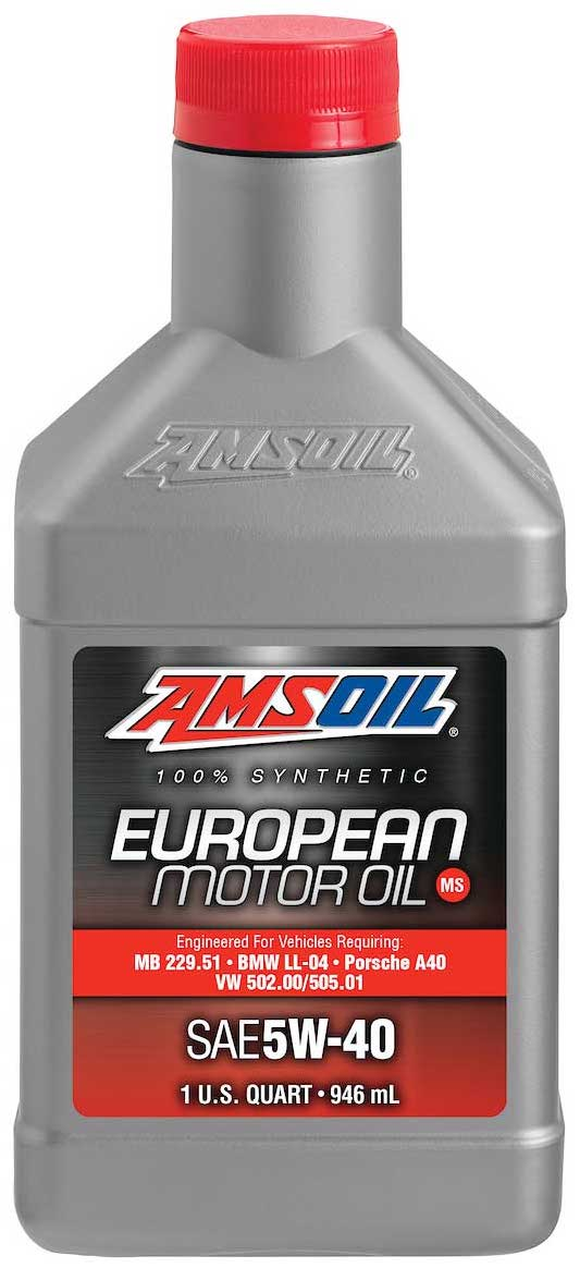 Amsoil european car formula 5w 40 improved emissions for The best motor oil in the world