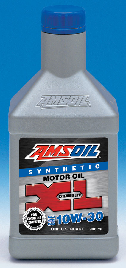 Amsoil 10w 30 synthetic motor oil xlt for Best motor oil in the world
